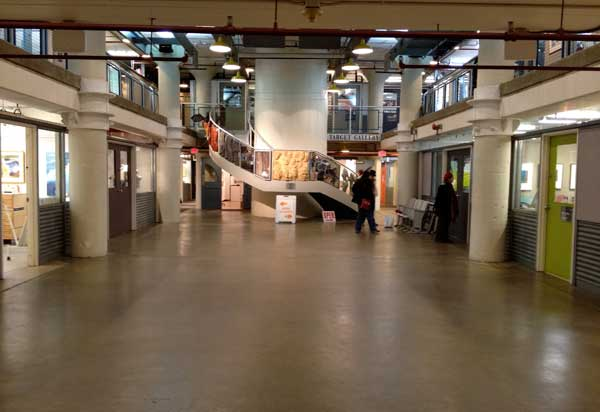 Artists studio spaces at the Torpedo Factory