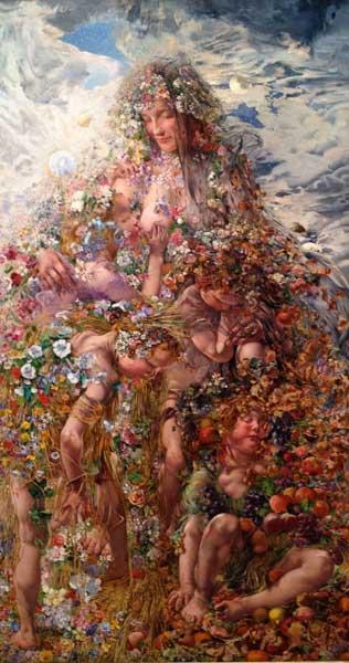 "Leon Frederic ""Nature or Abundance"""