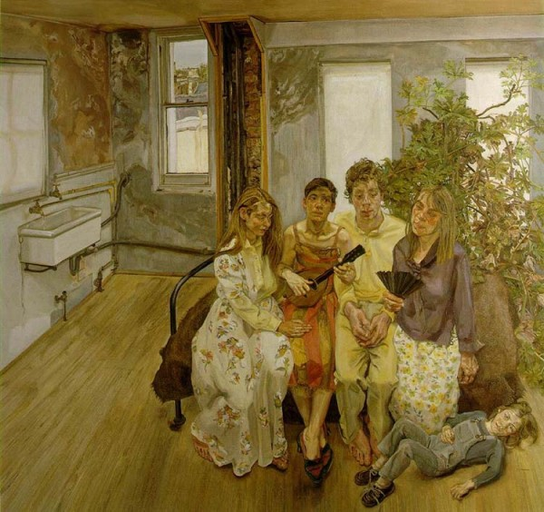 """Lucian Freud """"Large Interior"""""""