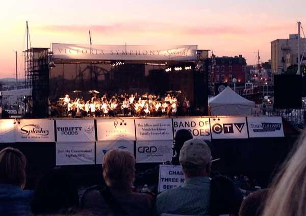 Victoria BC Symphony Splash 2012
