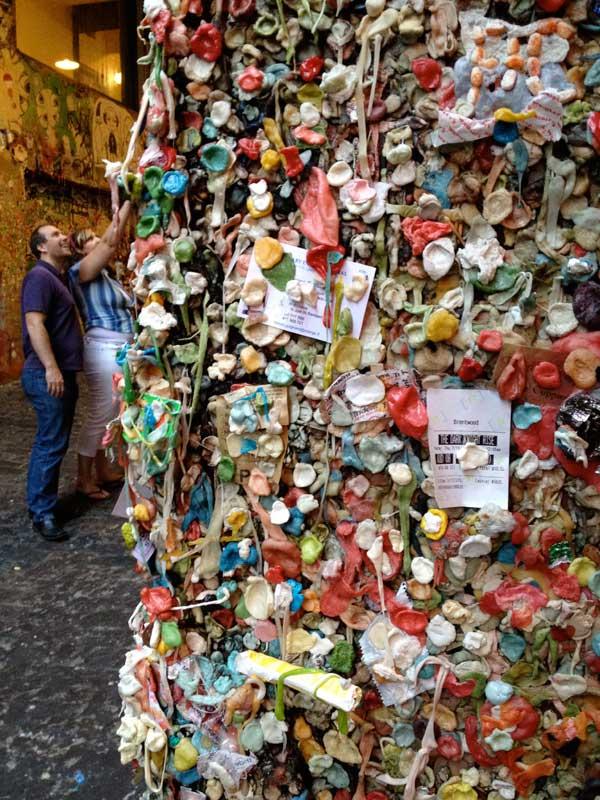 Gum Wall in Seattle