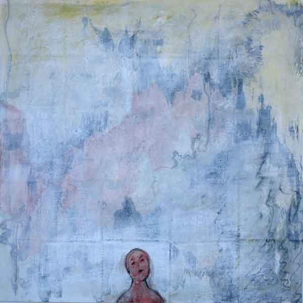 """Wishing no.1"", Acrylic on paper, 15""x15"", 2013"