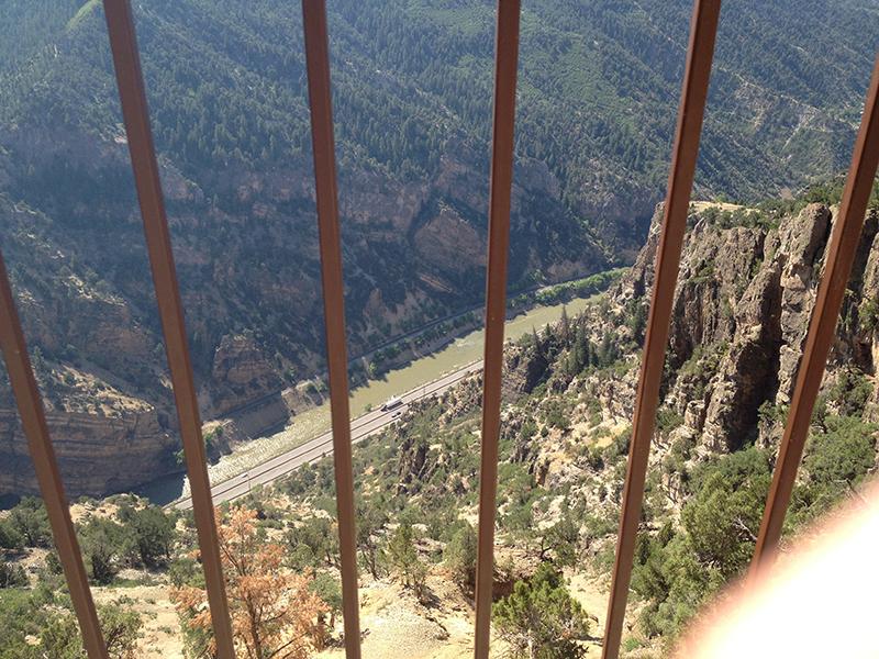 Glenwood Springs in Colorado