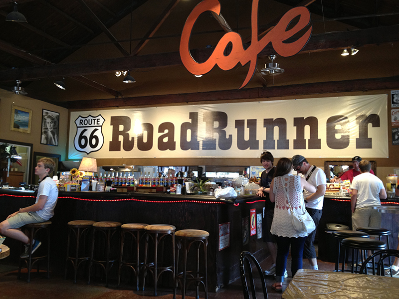Roadrunner Cafe in Seligman, AZ