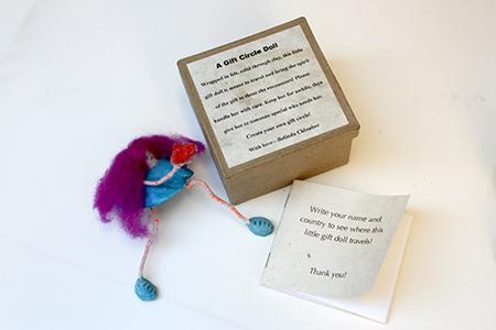 Gift Circle Doll set