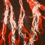 Hair, MonoPrint, 14x11, 2014